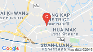 Supalai Veranda Ramkhamhaeng location map