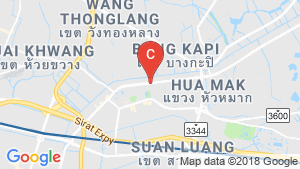 Supalai Veranda Ramkhamhaeng location map