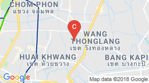 4 Bedroom Townhouse for rent in Wang Thonglang, Bangkok location map