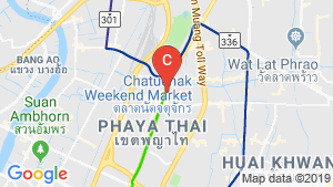 Ideo Q Phahol-Saphan Khwai location map