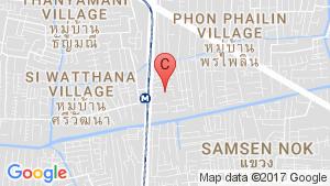 rhythm ratchada-Huaikhwang location map
