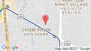 Condo One Ladprao 15 location map