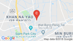 2 Bedroom Townhouse for sale in Min Buri, Bangkok location map