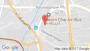 Baan Suan Chatuchak location map