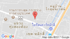 Motive Condo Chaengwattana location map