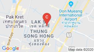 Lumpini Ville Chaengwattana 10 location map