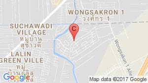 3 Bedroom House for sale in Neighborhome Watcharaphon, Sam Wa Tawan Tok, Bangkok location map