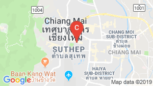 103 Condominium Chiangmai location map
