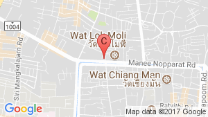 Icon Park Chiang Mai location map