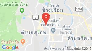 Nakornping Condominium location map