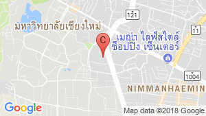 STYLISH CHIANG MAI location map