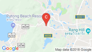 4 Bedroom Villa for Sale or Rent in Kathu, Phuket location map