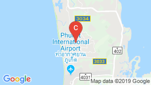 777 Beach Condo Maikhao location map