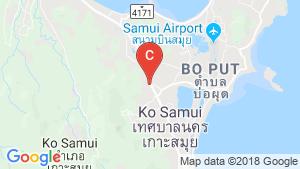 6 Bedroom Villa for sale in Bo Phut, Surat Thani location map