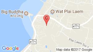The Bay Kohsamui location map