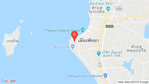 The Cube Pattaya location map