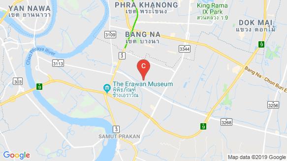 Y Residence Sukhumvit 113 location map
