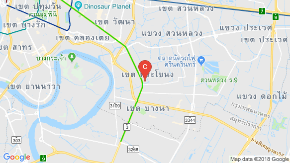 Bản đồ khu vực Whizdom Connect Sukhumvit