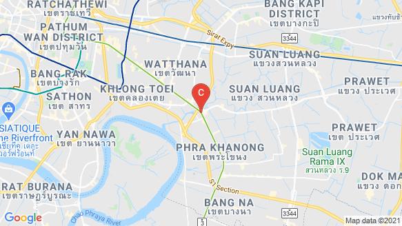 Ramada Plaza Residence by Siamese Asset location map