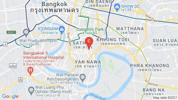 The Issara Sathorn location map
