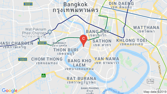RHYTHM Charoenkrung Pavillion location map