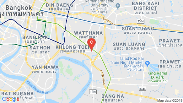 Ideo Sukhumvit – Rama 4 location map