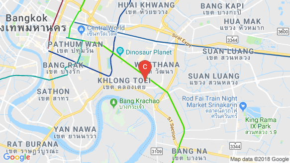 Noble Ambience Sukhumvit 42 location map