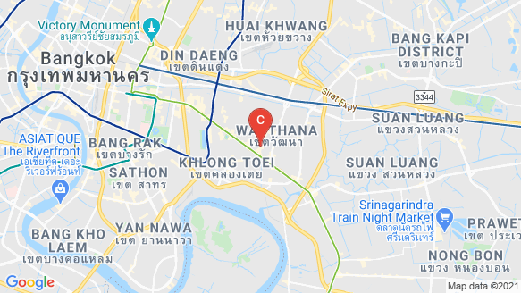 The Bangkok Thonglor location map