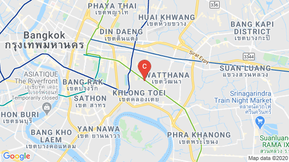 The Estelle Phrom Phong location map