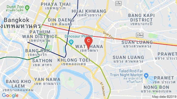 RHYTHM EKKAMAI ESTATE location map