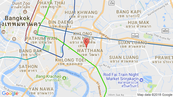The Fine Bangkok location map