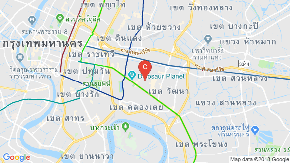 WALDEN SUKHUMVIT 39 location map