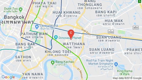 XT Ekkamai location map