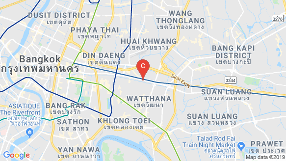 The Base Phetchaburi - Thonglor location map