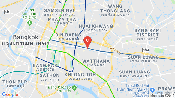 CLOUD Thonglor-Phetchaburi location map