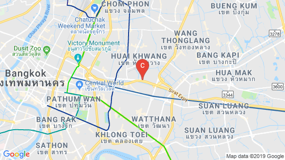 Siamese Rama 9 location map