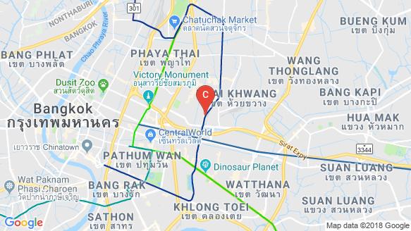XT HuaiKhwang location map