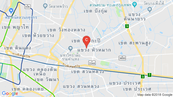 Niche Mono Ramkhamhaeng peta lokasi