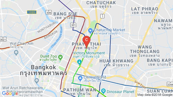 Park Origin Phayathai location map