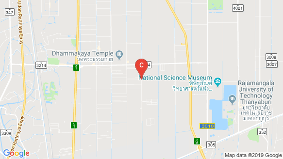 Baranee Residence Rangsit-Khlong 3 location map