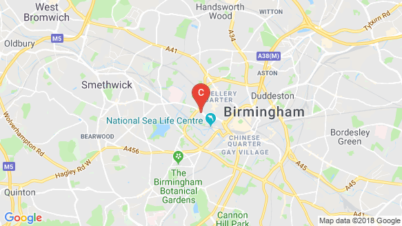 One BHM location map