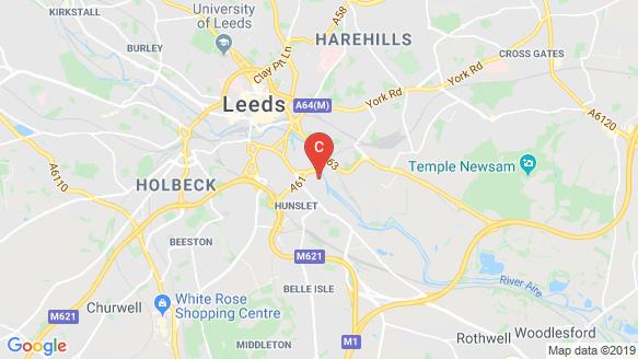 แผนที่สถานที่ Riverside Mills