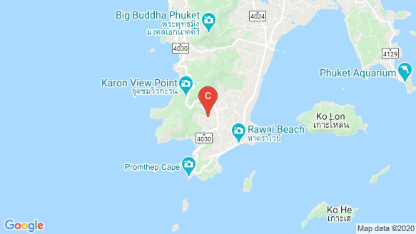 Nai Harn Baan-Bua - Baan Varij location map