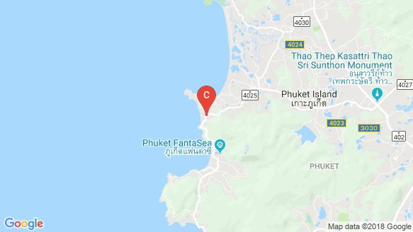 Oceana Surin Condominium location map
