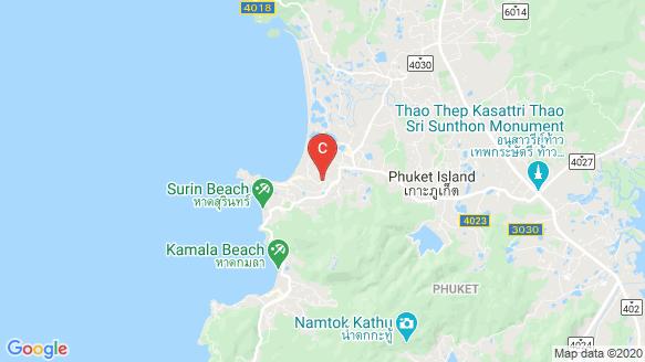 MONO Residence Bangtao Beach location map