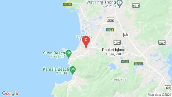 BOTANICA Bangtao Beach location map