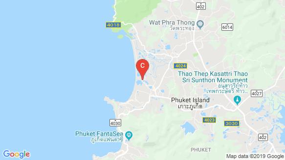 แผนที่สถานที่ Dhawa Phuket