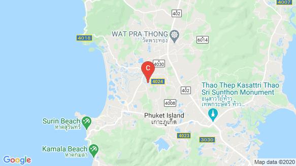 MONO Luxury Villa Pasak location map