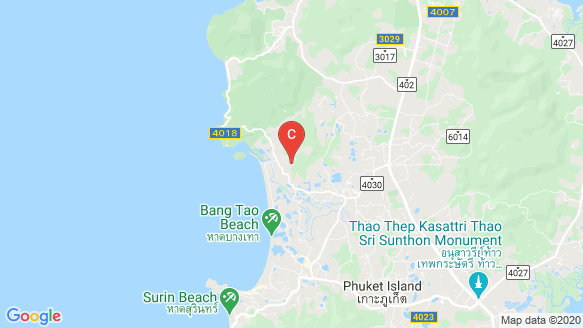 ISOLA Phuket location map