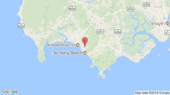 Rocco Condominium Ao-Nang location map